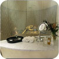Wholesale Metal ball chain saloon room curtain from china suppliers