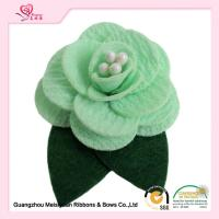 Wholesale Personalized Fabric Camelliar mens flower lapel pin Customized Color from china suppliers