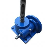 Wholesale SWL Series Blue Worm Gear Elevator / Worm Screw Lift / Worm Gear Screw Jack from china suppliers