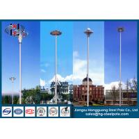Buy cheap Octagonal Hot dip Galvanized Steel High Mast Poles for Lighting from wholesalers