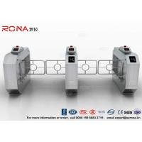 Wholesale RFID Automatic Swing Barrier Gate Smart Arm Revolving Door Security Access Control Turnstile from china suppliers