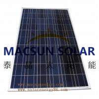 Buy cheap Macsun solar 300W Poly Crystalline Solar Panels for solar power system from wholesalers