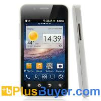 Wholesale Dual SIM Android Smarphone with 3.5 Inch Display and 1GHz CPU - White from china suppliers