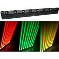 Wholesale Four-colors Red Green Blue White 8PCS Cree Bulbs LED Moving Head Light With Beam Mode from china suppliers