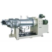 Wholesale 110KW Single Screw Strainer Extruder For PVC with Double Die head from china suppliers