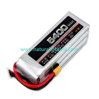 Wholesale 35C 5400mAh RC Battery for Large fixed-wing, helicopter, four-axis multi-rotor, car models, electric motor within 120A from china suppliers