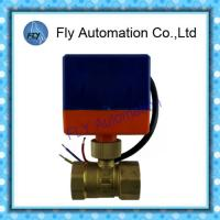 """Wholesale Ball BV2011S DN20 3/4"""" Electric motor Water Solenoid Valves 2 way Brass from china suppliers"""