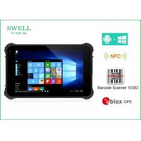 Wholesale Waterproof Dustproof Shockproof 8inch Rugged Tablet Pc With NFC Barcode Scanner from china suppliers