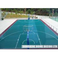 Wholesale Practical Outdoor Sports Tiles With Modular Sports Surface For Badminton Courts from china suppliers