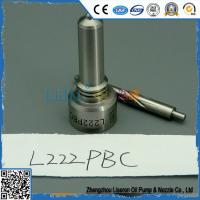 Wholesale L222PBD and L222 PBD delphi injector nozzle L 222 PBD from china suppliers