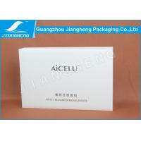 White Lizard Special Rectangular Cardboard Boxes Recycled For Cosmetic Packaging