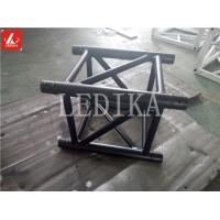 Quality Quick Lock 0.5 Meter Long Aluminum Spigot Truss Brightsome Black Truss System for sale