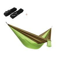 Wholesale Virson Parachute Fabric 2 person Portable Hammock for Camping Travel from china suppliers