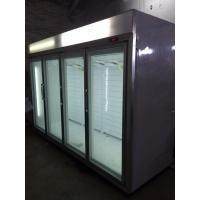 Wholesale CE / RoHS Greenhealth Glass Door Freezer Environmentally Friendly from china suppliers