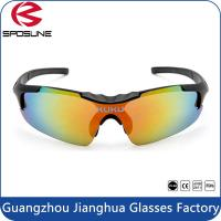 Wholesale 100% UV Protection Unbreakable Outdoor Sports Glasses For Men / Women Cycling from china suppliers