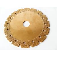 Wholesale 6 Inch Electroplated Corrugated Teeth Dry Cut Diamond Blade For Granite And Sandstone from china suppliers