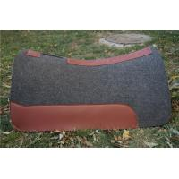 Buy cheap wool felt horse saddle pad producer from wholesalers