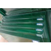 Buy cheap 10mm / 12mm Tinted frosted Laminated Tempered Glass For Balustrade / Balcony from wholesalers