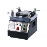 Wholesale Easy Handle Fiber Optic Polishing Machine , Four Cornered Industrial Grinding Machine from china suppliers