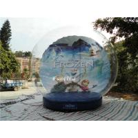 Wholesale CE Outdoor Snow Globe Inflatable / Airblown Snow Globe For Events from china suppliers