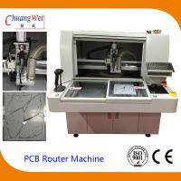 Buy cheap 220V 4.2KW PCB Router Depanelizer With Double Working Tables 113*140*108cm from wholesalers