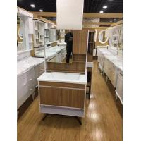 Wholesale Custom Made Square Hanging Bathroom Vanity Plywood Board Wall Bathroom Cabinets from china suppliers