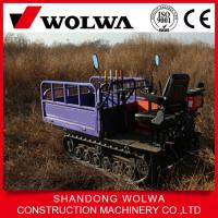 Wholesale 1ton load mini diesel track carrier, rubber truck, track carrier for sale from china suppliers