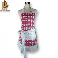 Quality Classical Denim Colorful Soft Home Kitchen Apron 100% Cotton Apron with Stringyselvedge for sale