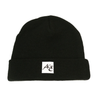 Wholesale Custom Crochet black beanie knitted winter skull ski cap beanie slouch alpaca hat with patch logo from china suppliers