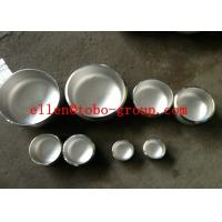 Wholesale Stainless steel Cap ASTM A403 WP304/304L, WP316/316L, WP321, WP347, WPS 31254. UNS S31803, UNS32750, UNS32760 from china suppliers