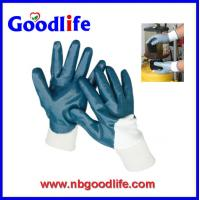 Wholesale Safety working anti-erode gloves PVC gloves Nitrile gloves from china suppliers