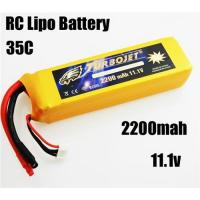 Wholesale 11.1v 2200mah 35c Lithium Polymer Battery for RC airplane,RC car,RC boat,good quality from china suppliers