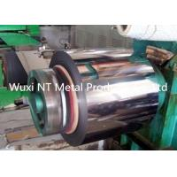 Wholesale NO.4 Mirror PVC ASTM A240 AISI 420 HR 430 Stainless Steel Coil / Steel Strip Roll from china suppliers