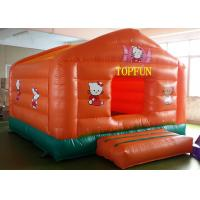 Wholesale Double Sewing PVC Tarpaulin Inflatable Jumping Castle Hello Kitty Bounce House from china suppliers