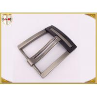 Wholesale Nickel And Lead Free Silver Plated Double Pin Belt Buckle For Man from china suppliers