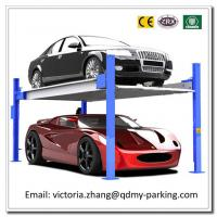 Wholesale On Sale! Cheap 3600kgs Multi-level Parking System Vertical Four Posts 2 Level Parking Lift from china suppliers
