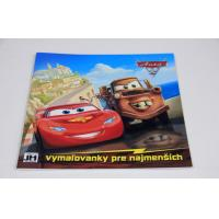 Quality Comic Book Saddle Stitch Book Printing And Binding With Heat Transfer Stickers for sale