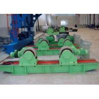 Wholesale 10 Tons  Conventional Pipe Welding Rotator Turning Rolls Use Double Motor  Synchronous Driver from china suppliers
