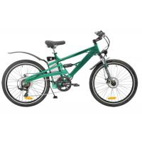 Wholesale High configuration Green Color mountain e bike 500W  Brushless hub motor from china suppliers