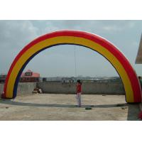 Wholesale 8m Span Commercial colored advertising Inflatable Arch rental For Party from china suppliers