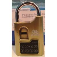 Wholesale Fingerprint padlock used for bicycles, sheds, trailers, garages, or anywhere else you woul from china suppliers