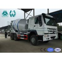 Wholesale High Efficiency 12cbm Large Cement Mixer truck 320HP Engine , Left Hand Driving from china suppliers