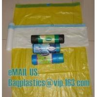 Wholesale MDPE DRAWTAPE SACKS, nappy bags, nappy sack, diaper bag, alufix, rubbish bag, garbage from china suppliers