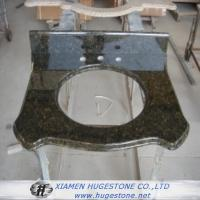 Wholesale Olive Green Granite Sink Countertop, Bathroom Sink Countertops from china suppliers