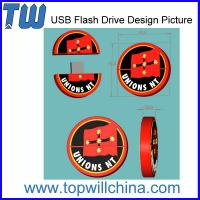 Wholesale Unique Custom PVC USB Flash Drive Product for Your Own Design from china suppliers