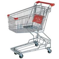 Wholesale Custom Double Layer Supermaket Shopping Carts Trolley with 150kg Capacity from china suppliers