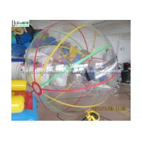 Wholesale Colorful Stripe Inflatable Water Walking Ball Made of Polyether TPU For Water Pool from china suppliers