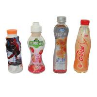 Wholesale Customized Design PVC Heat Shrink Sleeve Labels For Juice Water Bottle Packaging from china suppliers