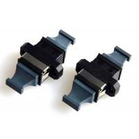 Wholesale MPO MTP Flange Fiber Optic Adapter Black Bare Fiber Adapter APC Polished from china suppliers