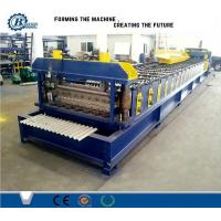 Wholesale Steel Automatic Roof Corrugated Roll Forming Machine PLC Control from china suppliers